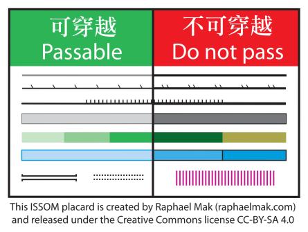 ISSOM passability placard (600dpi)